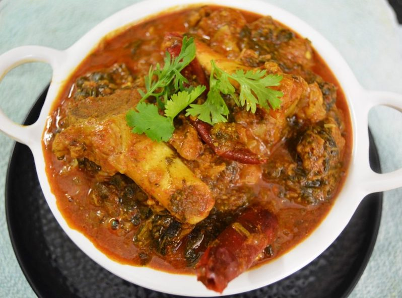 Avakai Mutton Curry