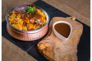 Rajugari Royyala (Shrimp) Fry Biryani