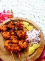 Shrimp tikka kebab