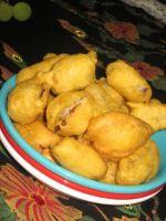Vankaya Bajji(Egg plant Bajji)