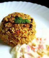 Egg Kheema Biryani