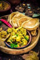 Puri & Puri Bhaji/Chole