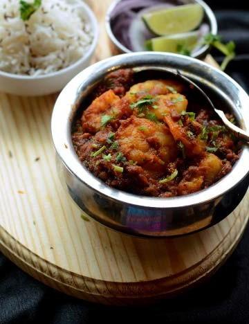 Bawarchi Royyala Kura (Shrimp)