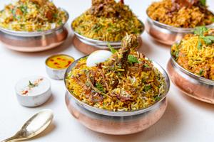 Vegetarian Dum Biryani