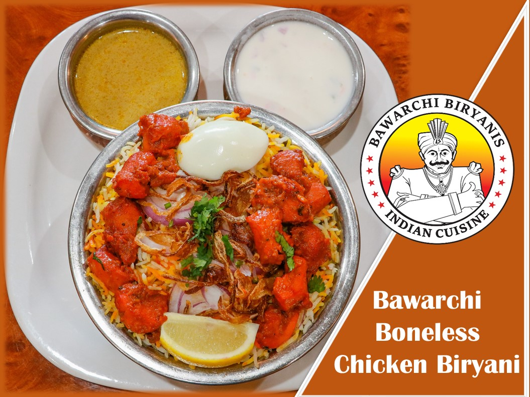 Bawarchi Boneless Biryani