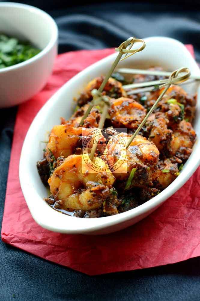 Seema Shrimp Roast
