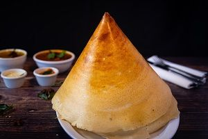 Choclolate Dosa with Cone