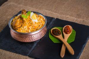 Avakai Chicken Dum Biryani  - Family Pk