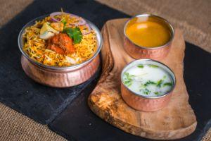 Chicken Tikka Masala Biryani (Mild)