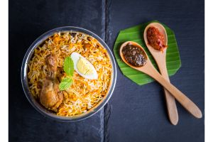Gongura Mutton Dum Biryani - Family Pk