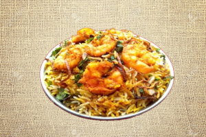 Shrimp Biryani (Single)