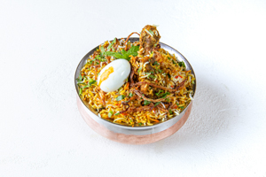 Hyderabad Dum Biryani Chicken