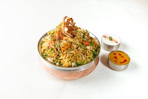 Vijayawada Special Biryani Chicken (House Favorite)