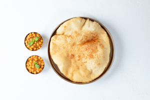Chole Bhature (2)  (House Special)