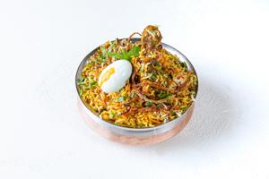Hyderabadi Dum Biryani Chicken