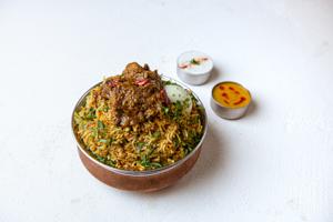 Gongura Biryani Chicken  (House Special)
