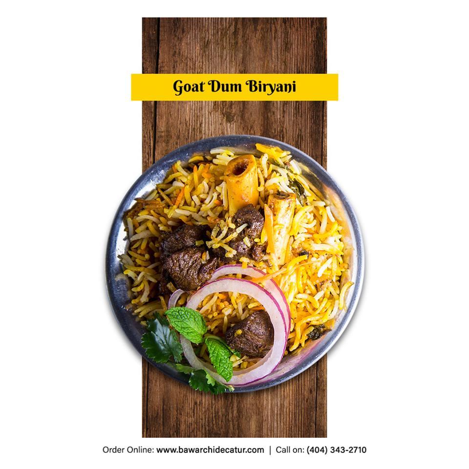 Goat Dum Biryani (Single)