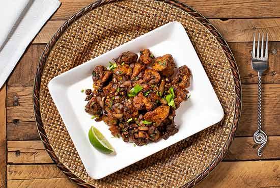 Mushroom Pepper Salt