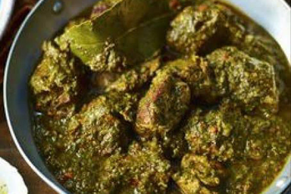 Lamb Saag (Spinach)