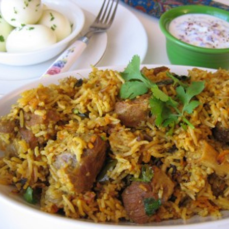 NATU KODI PULAV ( WEEKENDS ONLY)