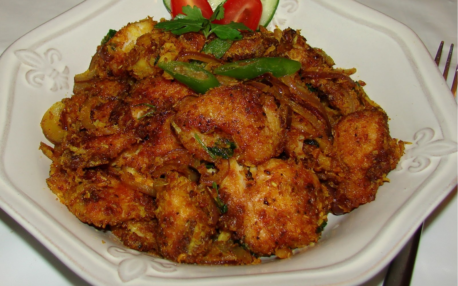 NATU KODI IGURU ( COUNTRY CHICKEN FRY)