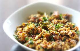 Homestyle Egg Bhurji