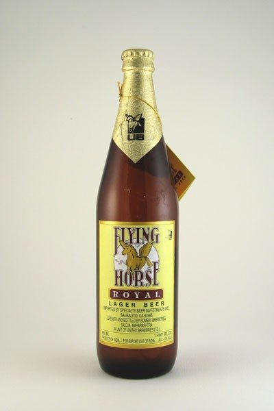 Flying Horse (India) Beer - 22oz