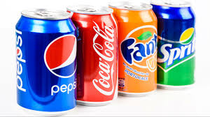 Soft Drinks (Coke, Diet coke, Sprite, Fanta , Ginger Ale & Iced Tea)