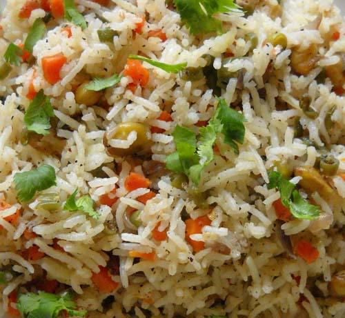 Fried Rice (Veg / Egg / Chicken / Shrimp)