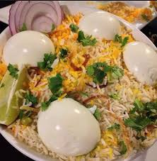 Egg Biryani Family Pack (serve 4-6 persons )