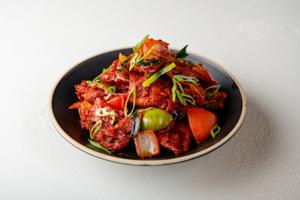 Madras Crispy Chili Paratha