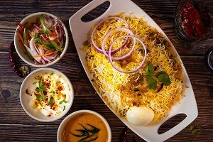 Chicken Dum Biryani (Family Pack)
