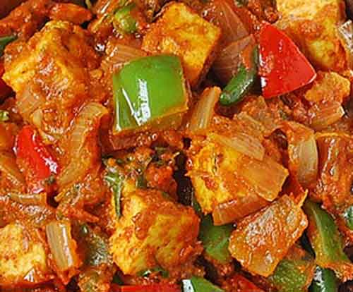 Kadai Paneer ( Chefs Specialty)