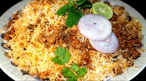 Chicken Keema Biryani