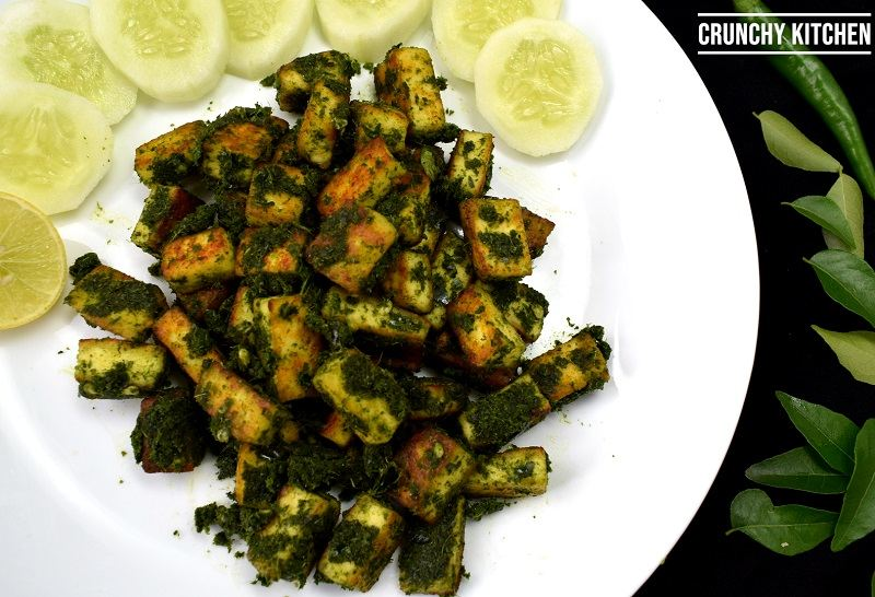 Curry Leaves Paneer (New)