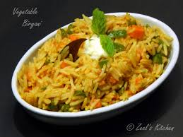 Vegetable Biryani (**2)