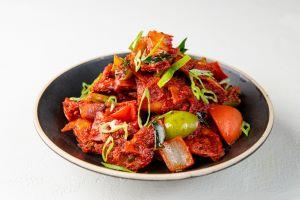 Madras Crispy Chilli Parotta