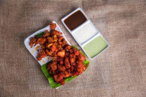 Chicken Manchuria (Wet)