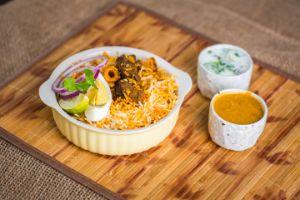 Bawarchi Boneless Chicken Biryani