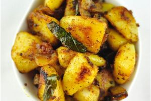 Potato Pepper Fry