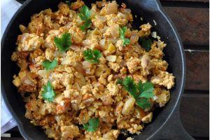 Egg Burji