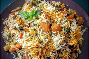 Vegetable Dum Biryani(Family Pack)