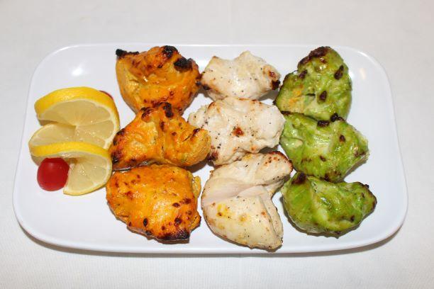 Triple Chicken Kebab