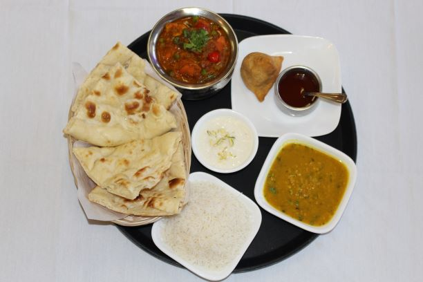 Kadai Vegetables Lunch Combo