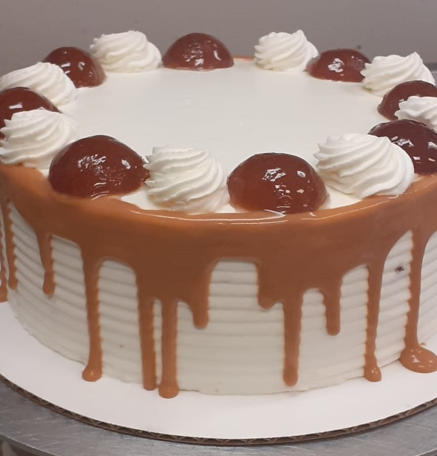 Gulab Jamun Cake With Egg