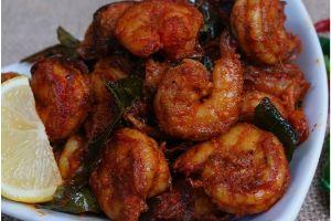 Shrimp Roast (Semi Dry)