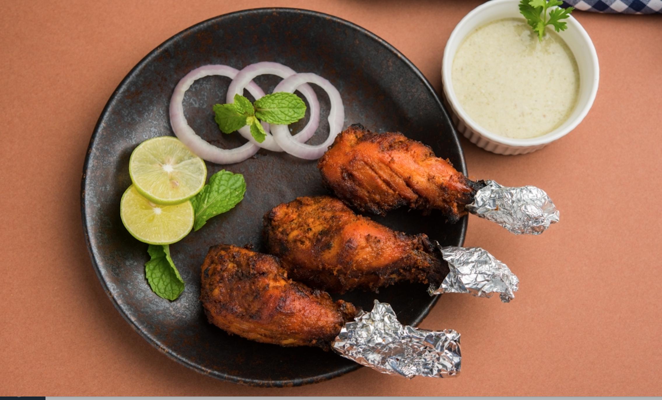 Tangre Kebab (4 Pcs)