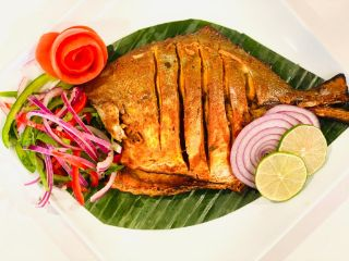 Tandoori Pompret(Full Fish)