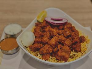 NV - Family pack Biryani Combo - Vijayawada Chicken with Non Veg - Appetizer