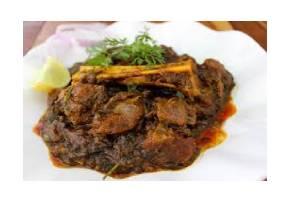 Gongura Goat Curry